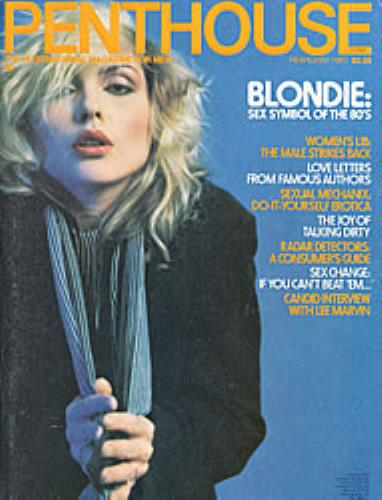 Debbie Harry Penthouse - feb 1980 magazine US DEBMAPE205021