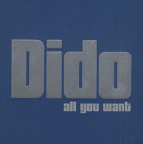 "Dido All You Want 3"" CD single (CD3) UK ODIC3AL203777"