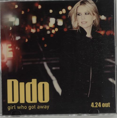 Dido Girl Who Got Away CD-R acetate Japanese ODICRGI659878