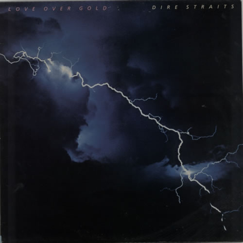 Dire Straits Love Over Gold vinyl LP album (LP record) UK DIRLPLO189558