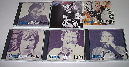 Dr Feelgood Looking Back - box set 5-CD album set UK DRF5CLO328541
