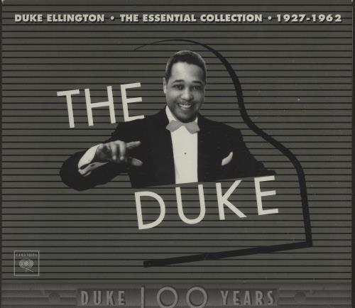 Duke Ellington The Duke - The Essential Collection (1927-1962) CD Album Box Set US DA3DXTH670210