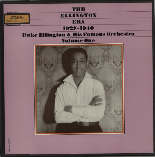 Duke Ellington The Ellington Era Volume One: 1927-1940 Vinyl Box Set US DA3VXTH670234