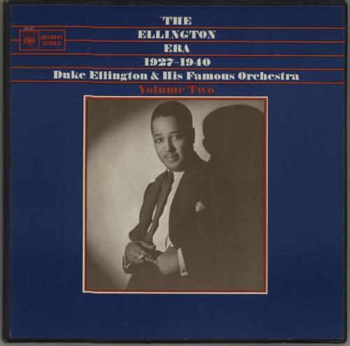 Duke Ellington The Ellington Era, 1927-1940: Volume Two Vinyl Box Set UK DA3VXTH670241