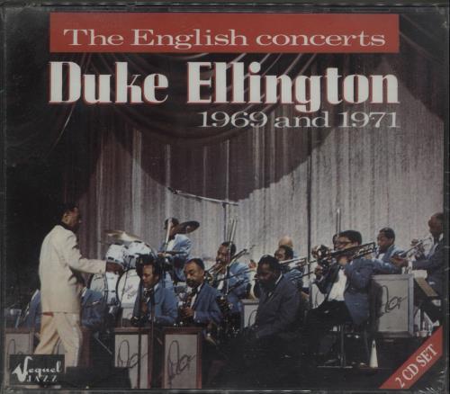 Duke Ellington The English Concerts - Sealed 2 CD album set (Double CD) UK DA32CTH670230