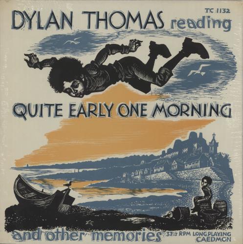 Dylan Thomas Quite Early One Morning - Sealed vinyl LP album (LP record) US DK5LPQU669069