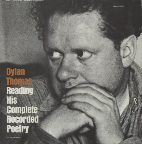 Dylan Thomas Reading His Complete Recorded Poetry 2-LP vinyl record set (Double Album) US DK52LRE669076