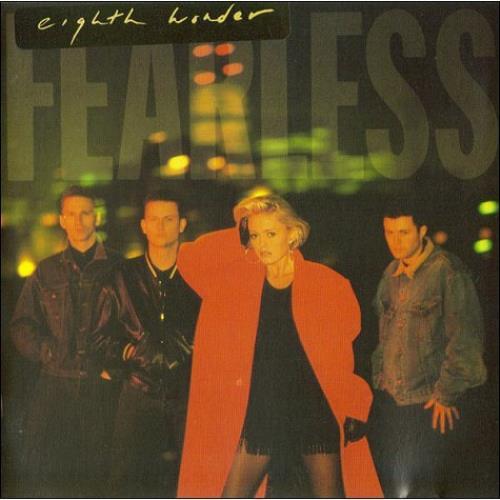 Eighth Wonder Fearless CD album (CDLP) UK EIGCDFE491865