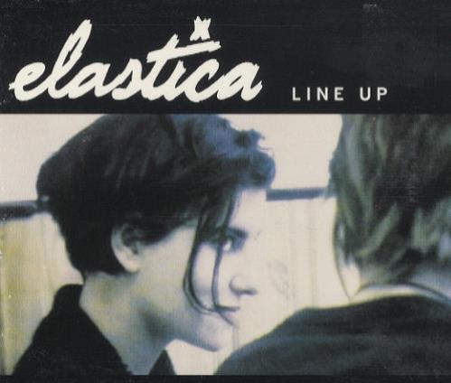 "Elastica Line Up CD single (CD5 / 5"") Australian ELAC5LI62277"