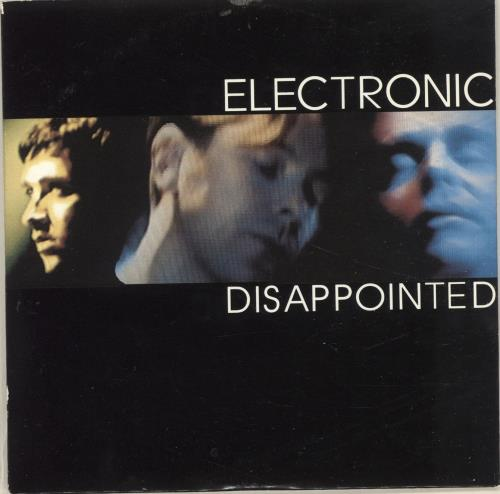 "Electronic Disappointed CD single (CD5 / 5"") UK ELEC5DI35164"