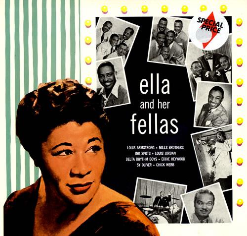 Ella Fitzgerald Ella And Her Fellas Uk Vinyl Lp Album Lp