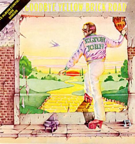 Elton John Adios Calles De Ladrillo - Goodbye Yellow Brick Road 2-LP vinyl record set (Double Album) Mexican JOH2LAD236267