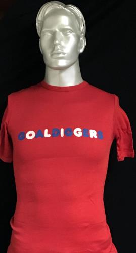 "Elton John The Goaldiggers Song + 2 T-Shirts M/S & Tie 7"" vinyl single (7 inch record) UK JOH07TH656862"