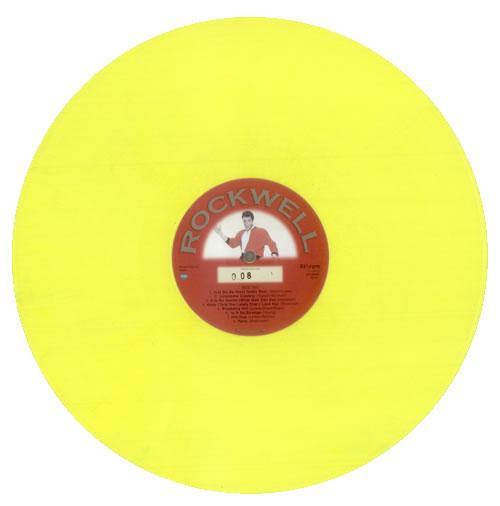 Elvis Presley All Shook Up - Yellow Vinyl vinyl LP album (LP record) UK ELVLPAL532748