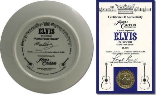 Elvis Presley Aloha From Hawaii memorabilia US ELVMMAL417640