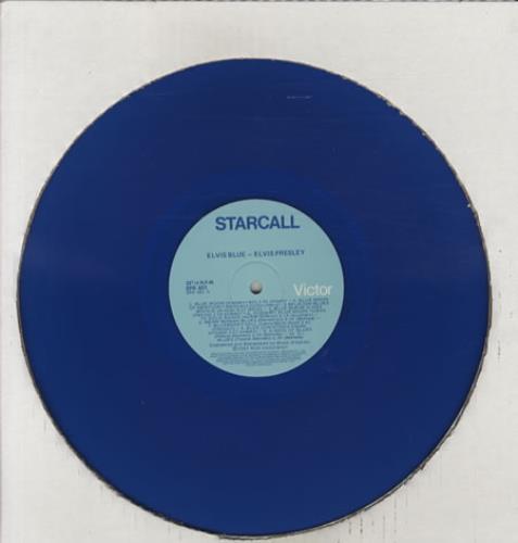 Elvis Presley Elvis Blue - Blue Vinyl vinyl LP album (LP record) Australian ELVLPEL249470