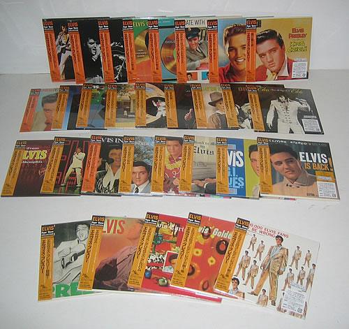 Elvis Presley Elvis Paper Sleeve Collection CD album (CDLP) Japanese ELVCDEL336873