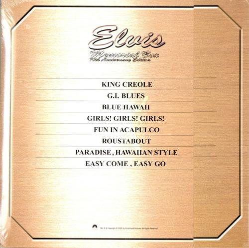 Elvis Presley Memorial Box - 70th Anniversary Edition DVD Japanese ELVDDME474893