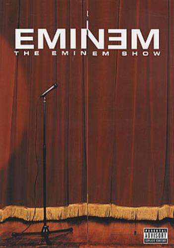 Eminem The Eminem Show handbill Japanese INEHBTH317324