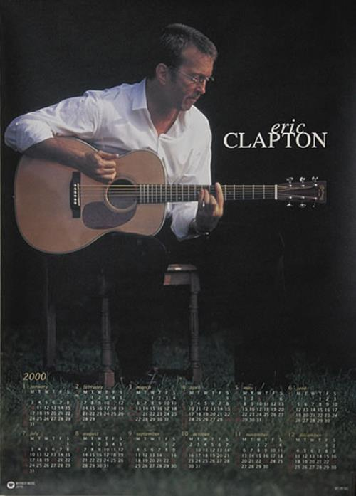 Eric Clapton Eric Clapton poster Japanese CLPPOER482884