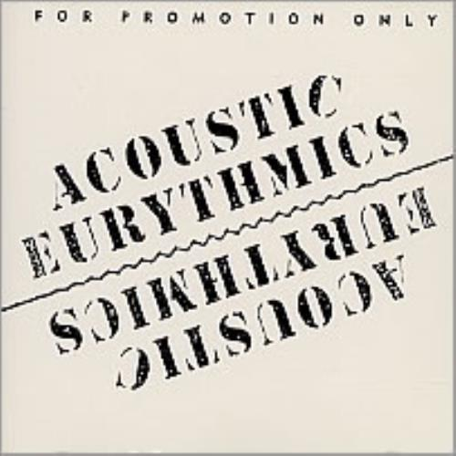 "Eurythmics Acoustic Sampler CD single (CD5 / 5"") US EURC5AC20564"