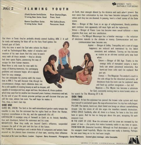 Flaming Youth Ark 2 - Sealed vinyl LP album (LP record) US FYHLPAR365492