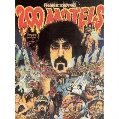 Frank Zappa 200 Motels DVD UK ZAPDDMO453089