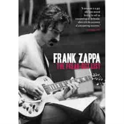 Frank Zappa The Freak-Out List DVD UK ZAPDDTH495428