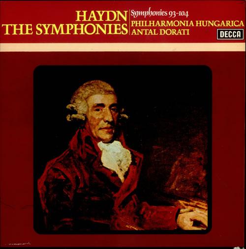 Franz Joseph Haydn The Symphonies (93-104) Vinyl Box Set UK HJYVXSY536041