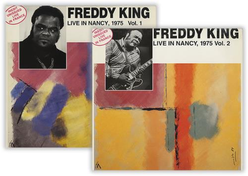 Freddie King Live In Nancy, 1975 2-LP vinyl record set (Double Album) French FDK2LLI405119