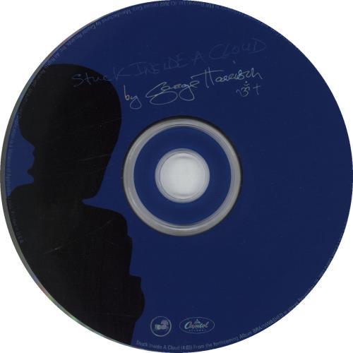 "George Harrison Stuck Inside A Cloud CD single (CD5 / 5"") US GHAC5ST227999"