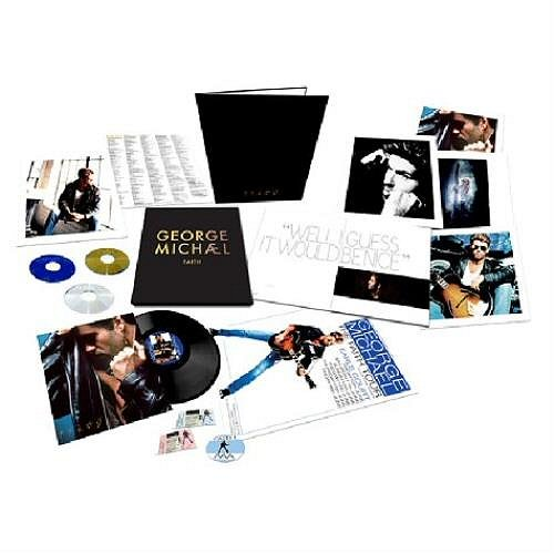 George Michael Faith - Sealed Deluxe Edition 3-disc CD/DVD Set UK GEO3DFA516964