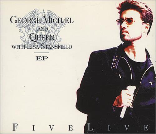 "George Michael Five Live E.P. - Part 1 CD single (CD5 / 5"") UK GEOC5FI18078"