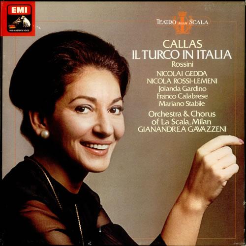 Gioacchino Rossini Il Turco in Italia 2-LP vinyl record set (Double Album) UK RNQ2LIL535792