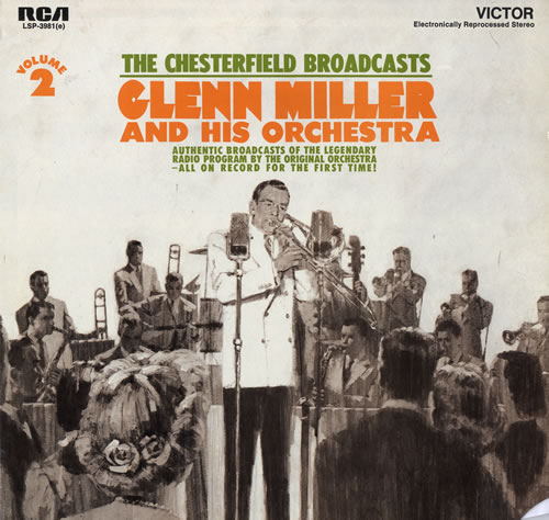 Glenn Miller The Chesterfield Broadcasts Volume 2 vinyl LP album (LP record) US GMELPTH554048