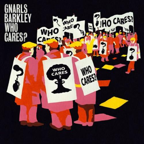 Gnarls Barkley Who Cares? / Gone Daddy Gone 2-CD single set (Double CD single) UK GNH2SWH378896