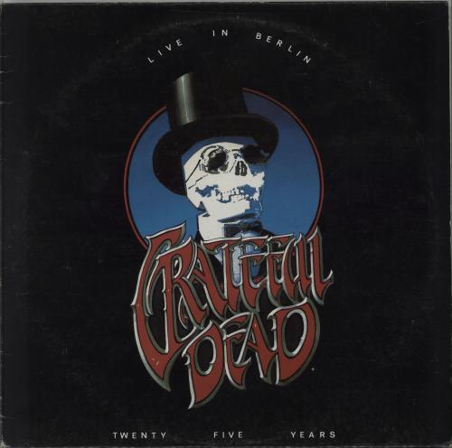 Grateful Dead Live In Berlin - 25 Years On The Road 2-LP vinyl record set (Double Album) UK GRD2LLI669078