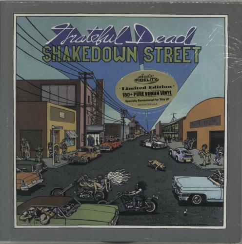 Grateful Dead Shakedown Street - 180gm vinyl LP album (LP record) US GRDLPSH655029
