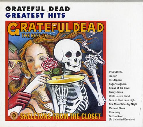 Grateful Dead Skeletons From The Closet: The Best Of The Grateful Dead CD album (CDLP) German GRDCDSK632840