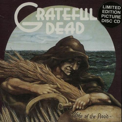 Grateful Dead Wake Of the Flood CD album (CDLP) UK GRDCDWA633167