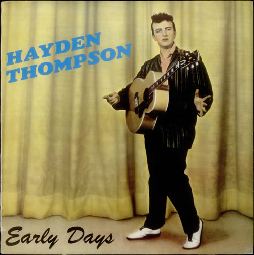 Hayden Thompson Early Days vinyl LP album (LP record) Swedish HKZLPEA543253