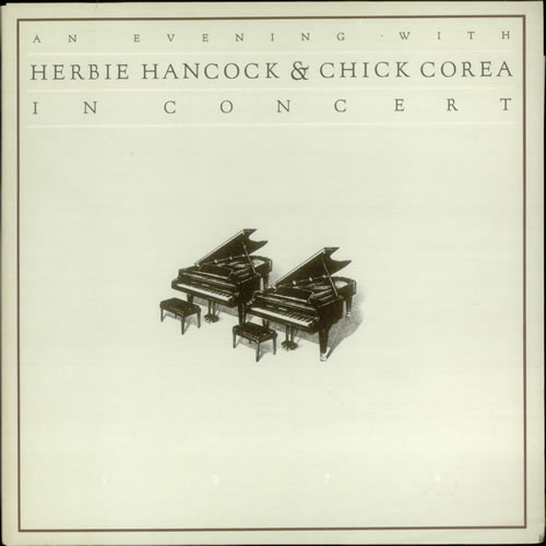 Herbie Hancock An Evening With Herbie Hancock & Chick Corea In Concert 2-LP vinyl record set (Double Album) Dutch HHA2LAN541036