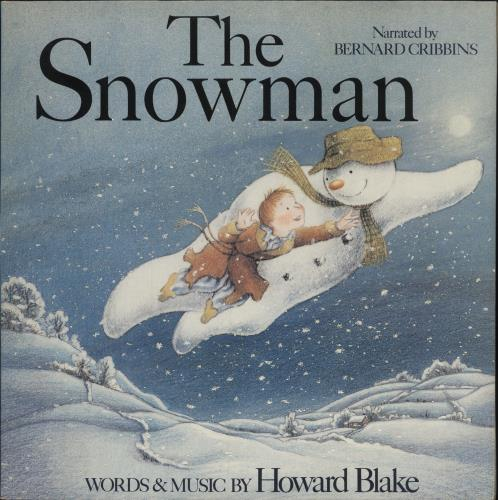 Howard Blake The Snowman vinyl LP album (LP record) UK H40LPTH394094
