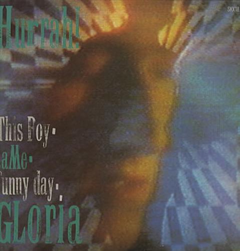 "Hurrah! Gloria 12"" vinyl single (12 inch record / Maxi-single) UK HRH12GL117875"