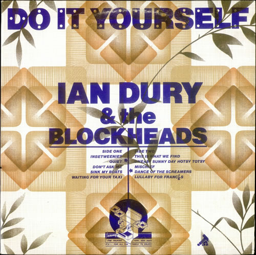 Ian Dury Do It Yourself vinyl LP album (LP record) Canadian INDLPDO521726