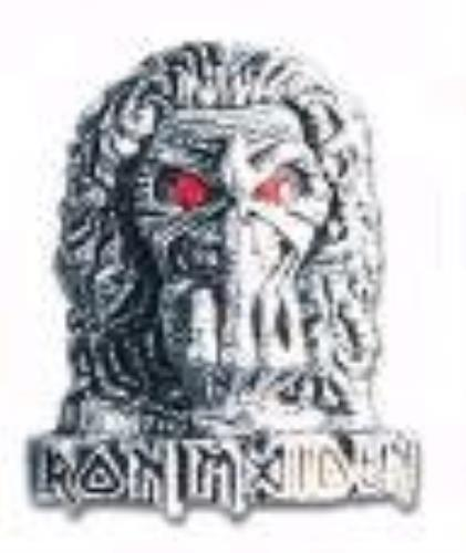Iron Maiden Eddie Finger Badge memorabilia UK IROMMED369927