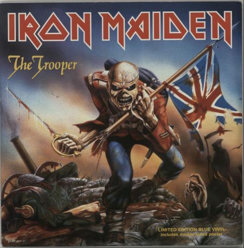 "Iron Maiden The Trooper 7"" vinyl single (7 inch record) UK IRO07TH332593"