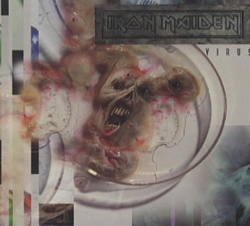"Iron Maiden Virus CD single (CD5 / 5"") UK IROC5VI98221"