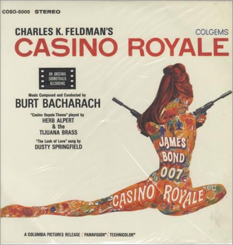 James Bond Casino Royale - 180gm - Sealed vinyl LP album (LP record) US JBDLPCA400909