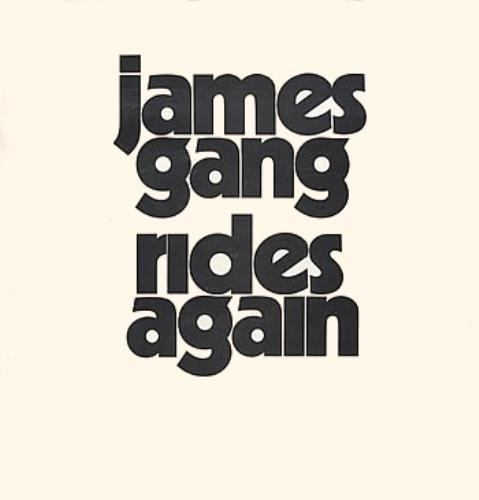 James Gang Rides Again vinyl LP album (LP record) UK JMGLPRI312225